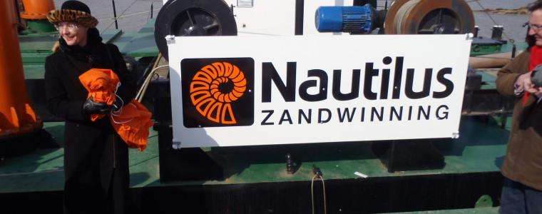 Zandzuiger Nautilus van start